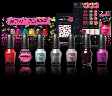 Sephora by OPI Collabs with Betsey Johnson