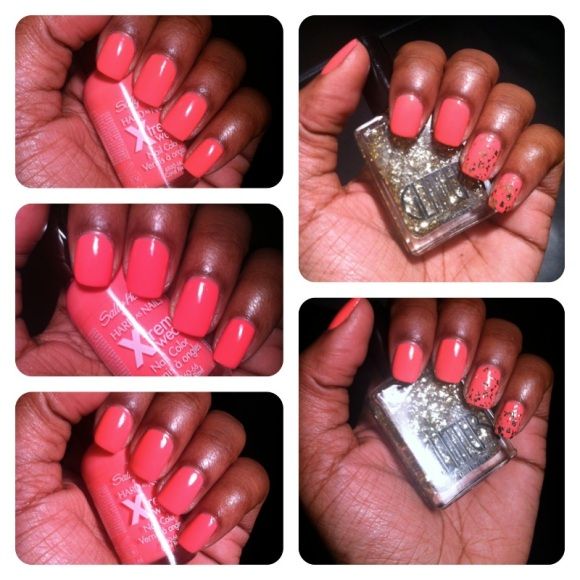sally hansen - coral reef